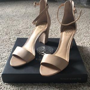 Vince Camino Corlina Ankle Strap Sandal nude 8.5